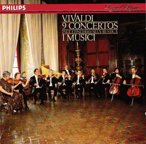 I Musici: Vivaldi - 9 Concertos (FLAC)