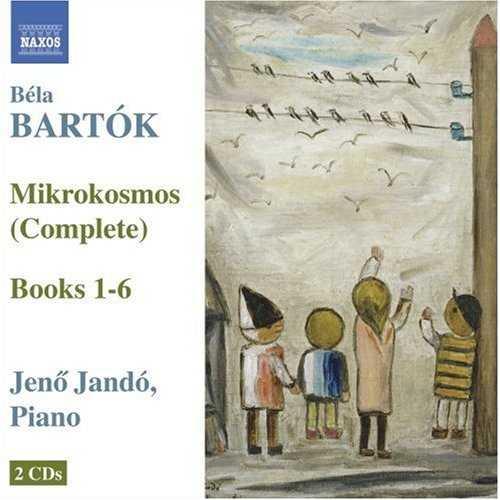 Jando: Bartók - Mikrokosmos, Books 1-6 (2 CD, FLAC)