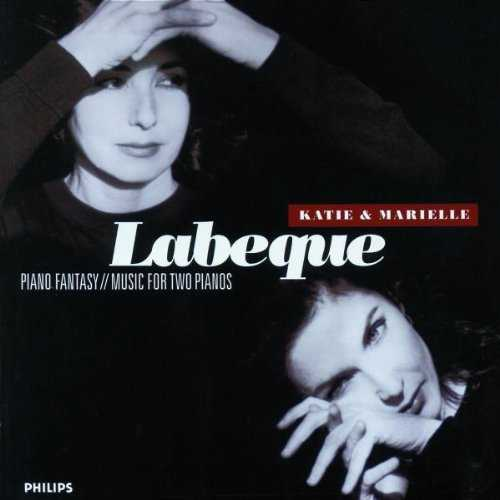 Katie & Marielle Labeque: Piano Fantasy, Music for Two Pianos (6 CD box set, FLAC)