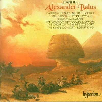 King: Handel - Alexander Balus (2 CD, APE)