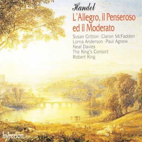King: Handel - L'Allegro, il Penseroso ed il Moderato (2 CD, APE)