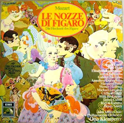 Klemperer: Mozart - Le Nozze Di Figaro (3 CD, FLAC)