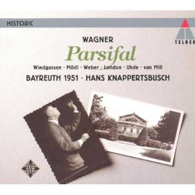 Knappertsbusch: Wagner - Parsifal, Bayreuth 1951 (4 CD, FLAC)