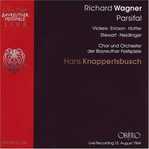 Knappertsbusch: Wagner – Parsifal, Bayreuth 1964 (4 CD, FLAC)