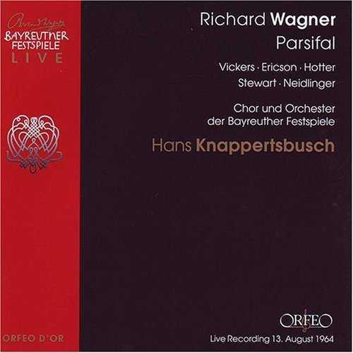 Knappertsbusch: Wagner – Parsifal, Bayreuth 1964 (4 CD, FLAC)
