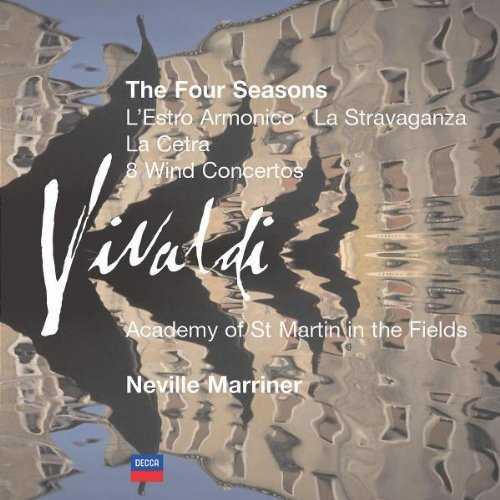 Marriner: Vivaldi - The Four Seasons, L'Estro Armonico etc. (7 CD box set, FLAC)