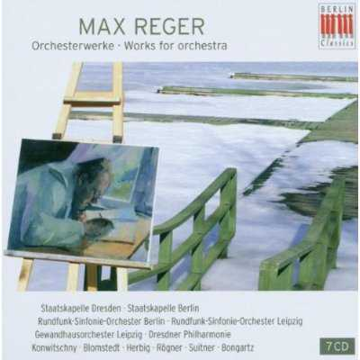 Max Reger - Works for Orchestra (7 CD box set, APE)
