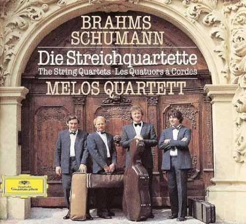 Melos Quartett: Schumann, Brahms - The String Quartets (3 CD, APE)