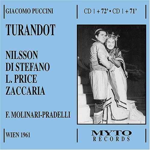 Molinari-Pradelli, Nilsson, Di Stefano: Puccini - Turandot (2 CD, FLAC)