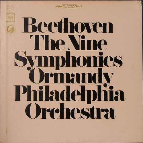 Ormandy: Beethoven - The Nine Symphonies (9 discs, APE)
