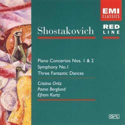 Shostakovich - Piano Concertos no.1 & 2, Symphony no.1, Three Fantastic Dances (APE)