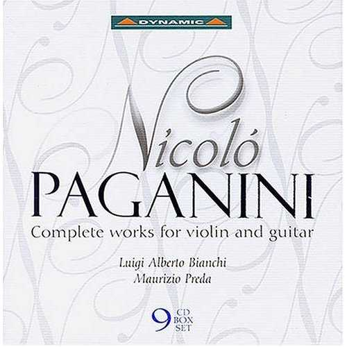 Nicoló Paganini - Complete Works for Violin and Guitar (9 CD box set, APE)