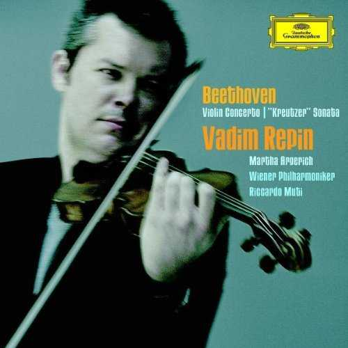 "Repin: Beethoven - Violin Concerto, ""Kreutzer"" Sonata (2 CD, APE)"