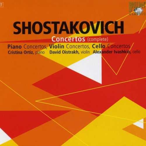 Shostakovich Complete Concertos (3 CD, FLAC)