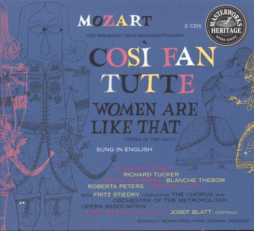 Stiedry: Mozart - Cosi Fan Tutte (2 CD, FLAC)
