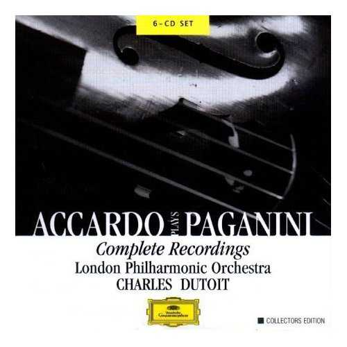 Accardo Plays Paganini: Complete Recordings (6 CD box set, APE)