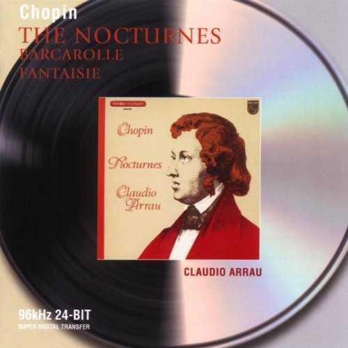 Arrau: Chopin - The Nocturnes, Barcarolle, Fantaisie (2 CD, FLAC)