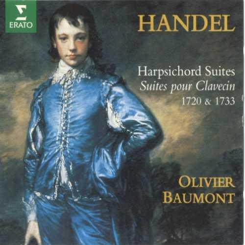 Baumont: Handel - Harpsichord Suites 1720 & 1733 (2 CD, APE)