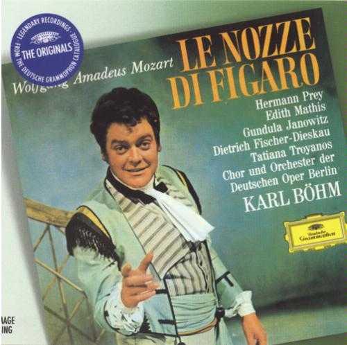 Bohm: Mozart - Le Nozze Di Figaro (3 CD, FLAC)