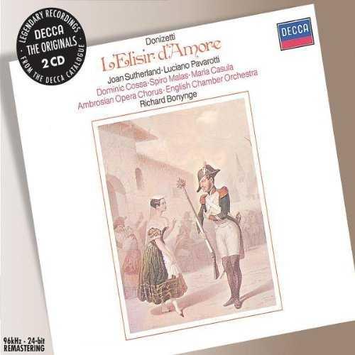 Bonynge: Donizetti - L'Elisir d'Amore (2 CD, APE)