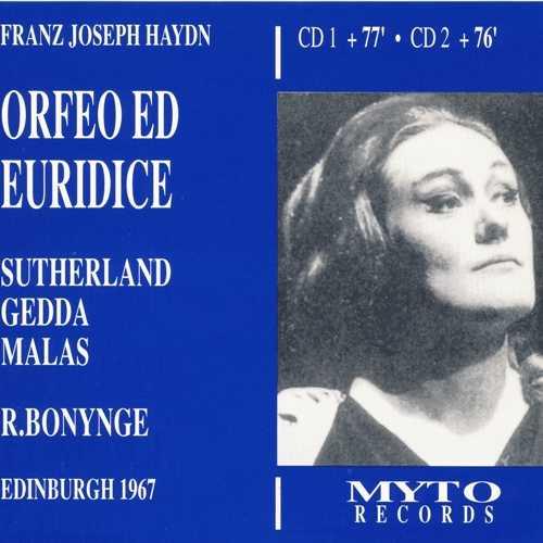Bonynge: Haydn - Orfeo ed Euridice (2 CD, FLAC)