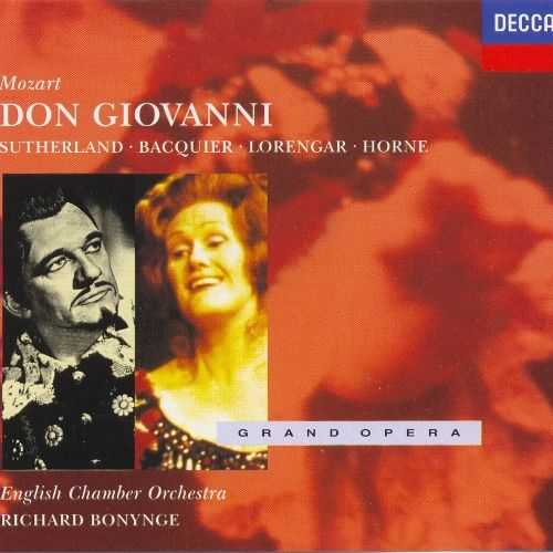 Bonynge: Mozart - Don Giovanni (3 CD, FLAC)