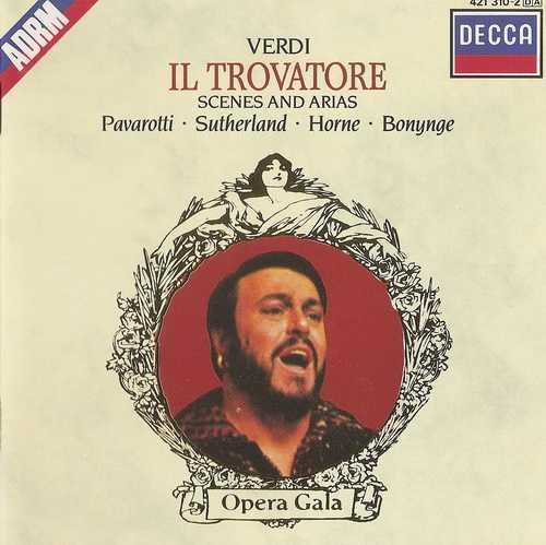 Bonynge: Verdi - Il Trovatore, Scenes and Arias (FLAC)