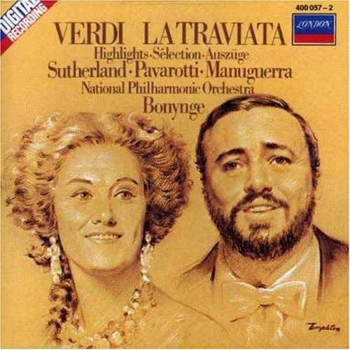 Bonynge: Verdi - La Traviata (2 CD, APE)