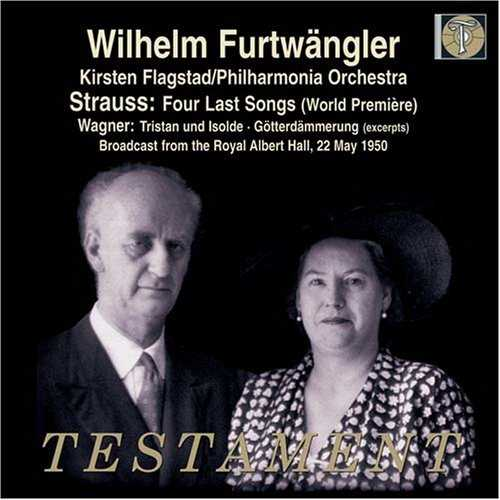 Furtwängler: Strauss - Four Last Songs, Wagner - Excerpts from Tristan und Isolde & Götterdämmerung (FLAC)