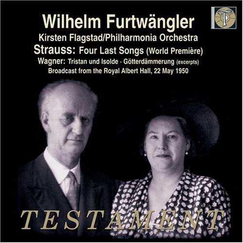 Furtwängler: Strauss - Four Last Songs, Wagner - Excerpts from Tristan und Isolde & Götterdämmerung (FLAC)
