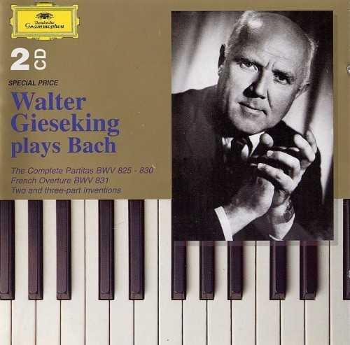 Walter Gieseking plays Bach (2 CD, APE)