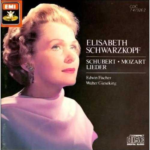 Elizabeth Schwarzkopf: Schubert & Mozart Lieder (FLAC)