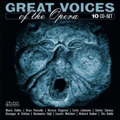 Great Voices of Opera (10 CD box set, FLAC)