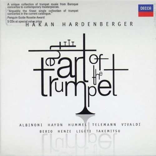 Hakan Hardenberger: The Art of the Trumpet (5 CD box set, APE)