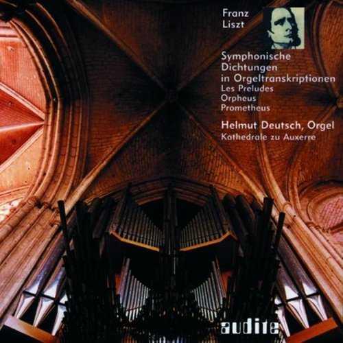 Helmut Deutsch: Liszt - Symphonische Dichtungen in Orgeltranskriptionen (FLAC)
