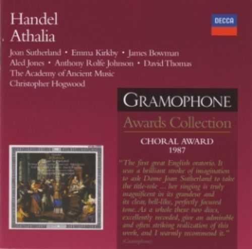 Hogwood: Handel - Athalia (2 CD, APE)
