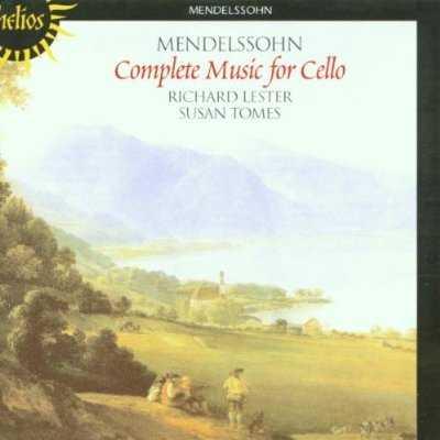 Lester, Tomes: Mendelssohn - Complete Music for Cello (APE)