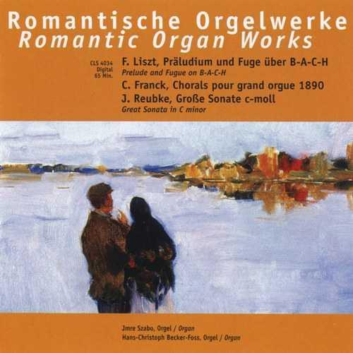 Liszt, Franck, Reubke: Romantic Organ Works (APE)