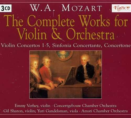 Mozart - The Complete Works for Violin & Orchestra (3 CD, FLAC)
