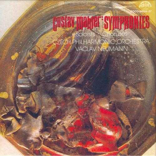 Neumann: Gustav Mahler Symphonies (14 CD box set, APE)