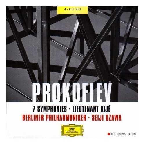 Ozawa: Prokofiev - 7 Symphonies, Lieutenant Kijé (4 CD, APE)