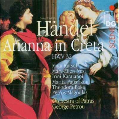 Petrou: Händel - Arianna in Creta (3 CD, APE)