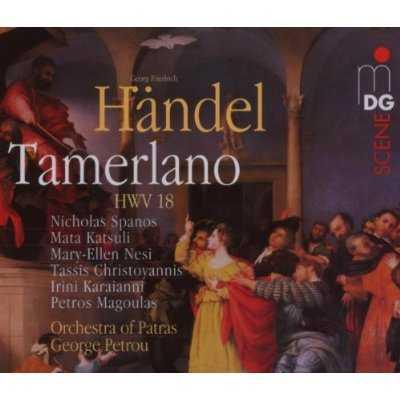 Petrou: Handel - Tamerlano (3 CD, FLAC)
