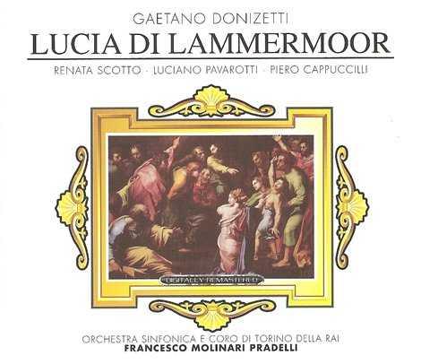Molinari-Pradelli: Donizetti - Lucia di Lammermoor (2 CD, APE)