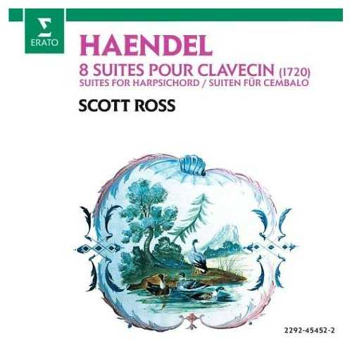 Ross: Handel - 1720 Harpsichord Suites (2 CD, FLAC)