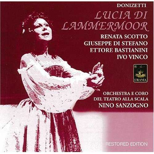 Sanzogno: Donizetti - Lucia di Lammermoor (2 CD, FLAC)