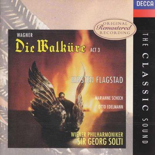 Flagstad, Solti: Wagner - Die Walkure, Act 3 (APE)
