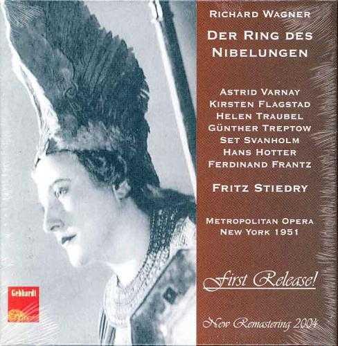 Stiedry: Wagner - Der Ring Des Nibelungen 1951 (11 CD box set, FLAC)