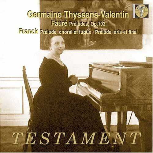 Thyssens-Valentin: Fauré, Frank - Préludes (FLAC)