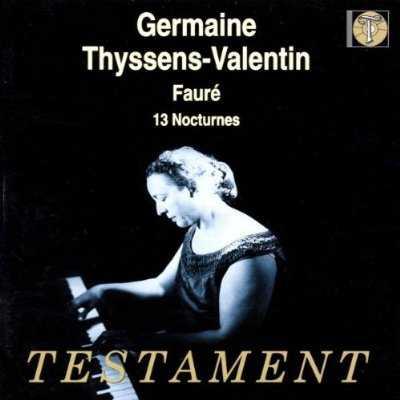 Thyssens-Valentin: Faure - 13 Nocturnes (FLAC)
